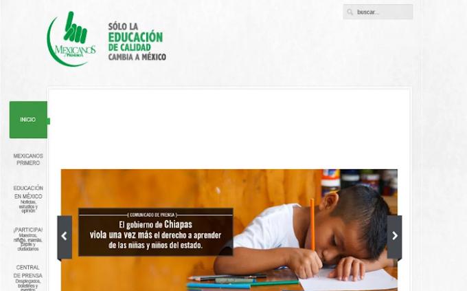Gobierno de Chiapas no garantiza educación de calidad: Mexicanos Primero