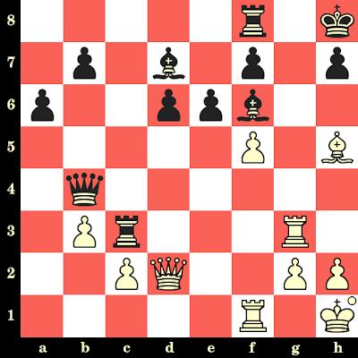 Les Blancs jouent et matent en 4 coups - Mikhail Tal vs Igor Platonov, Dubna, 1973