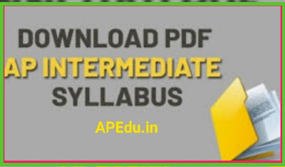 The Andhra Pradesh Intermediate Board (Arts & Science) has released the syllabus by reducing the syllabus by 30%.