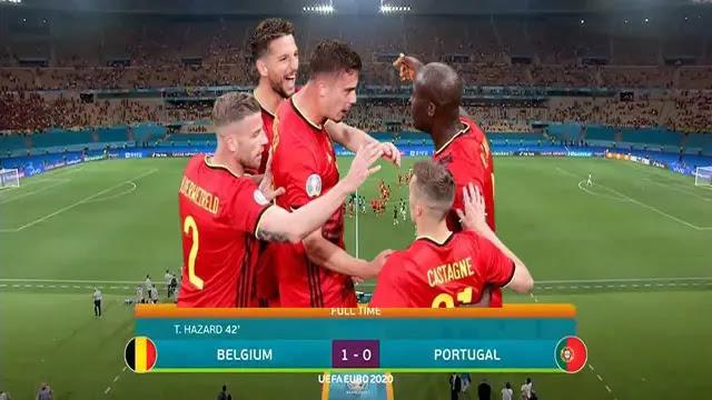 منتخب بلجيكا يقصى البرتغال ويضرب موعدًا مع إيطاليا في ربع نهائي اليورو