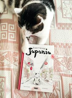 Haneczkie czyta Kocie ścieżki. Japonia