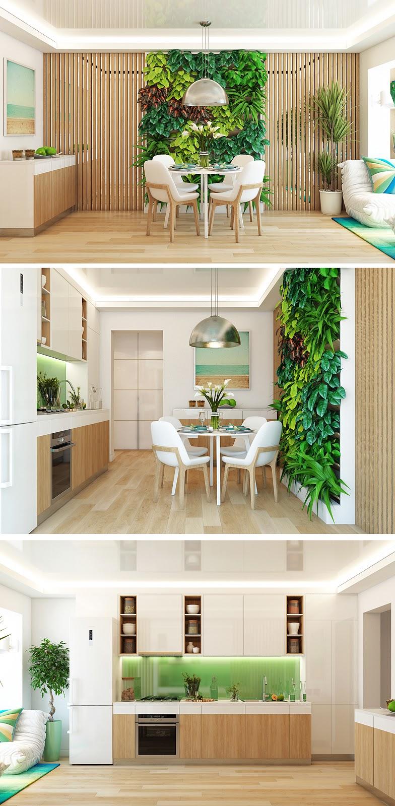 Inspiração Apartamento Verde