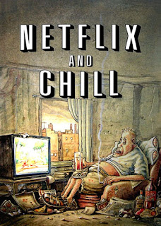 Netflix & Chill Cartoon