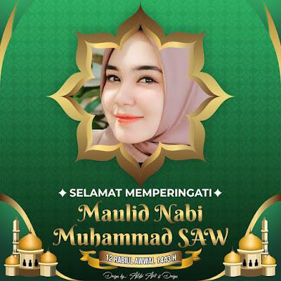 16 Link Download Bingkai Twibbon Memperingati Mualid Nabi Muhammad SAW 1443 H/2021