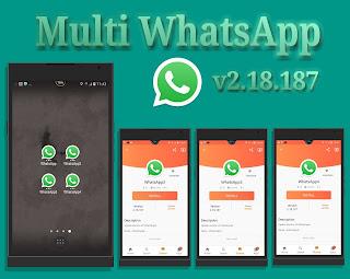 Multi WA v2.18.187 WhatsAppMods.in