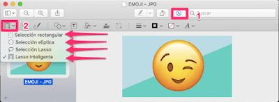 Quitar el fondo de una imagen en tu Mac.