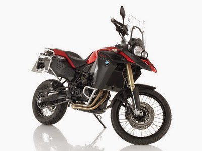 BMW F 800 GS Adventure Unbounded Enduro Dynamic Racing Red