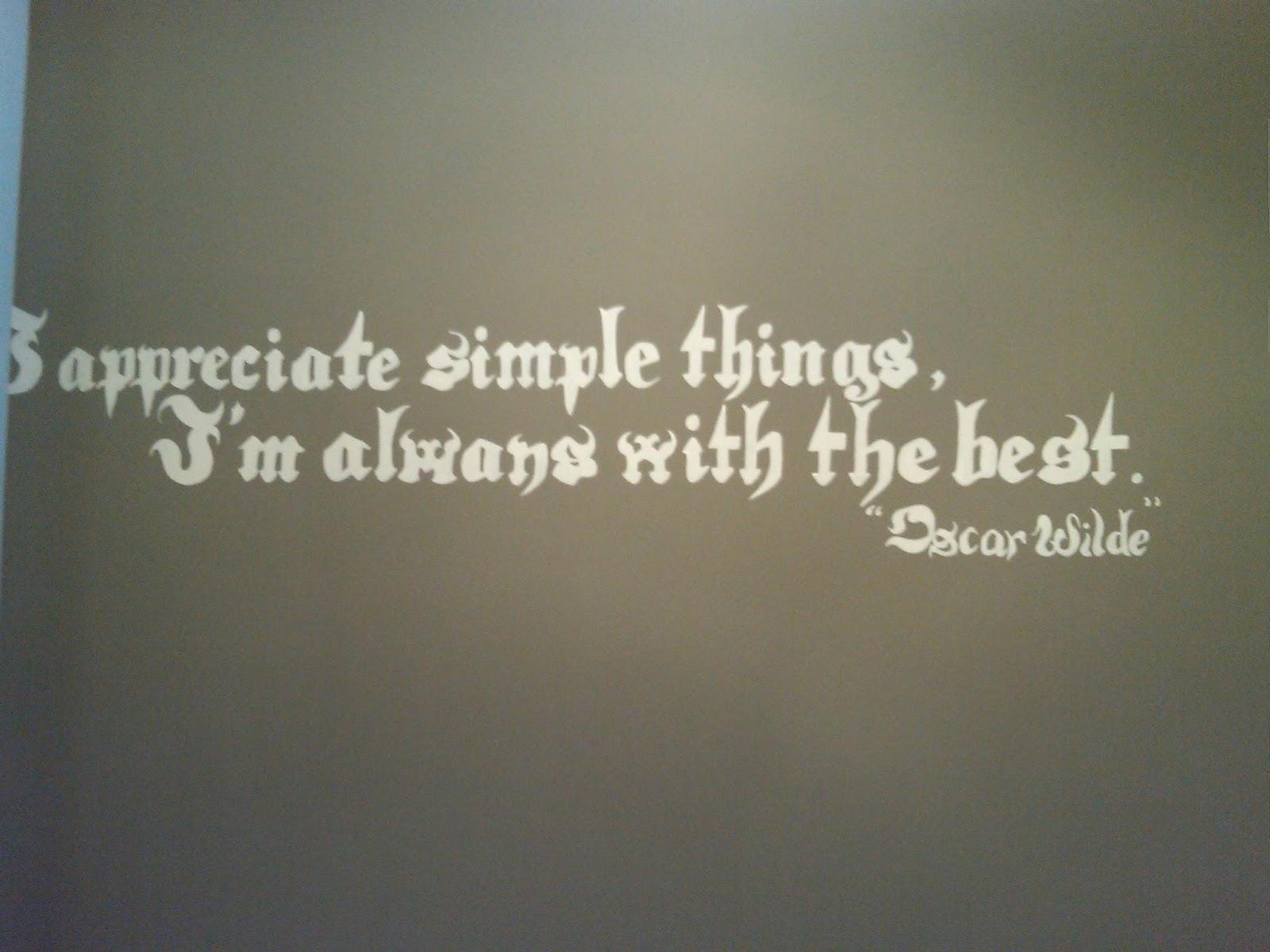 JISELLE GALLERY  La famosa frase di Oscar Wilde