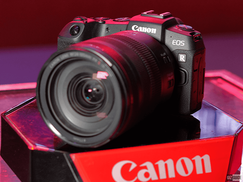 Canon EOS RP Full Frame Mirrorless camera, now available in the PH!