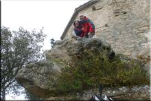San Formerio mendiaren gailurra 752 m. -- 2017ko apirilaren 2an