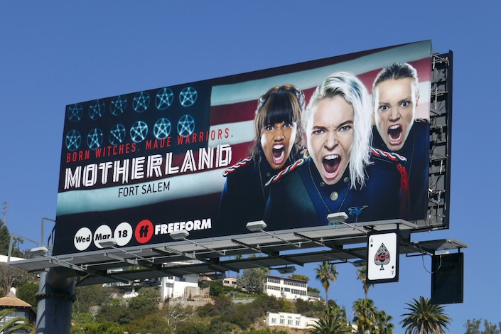 Motherland Fort Salem series premiere billboard