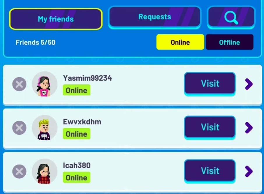 cara invite teman di pk xd