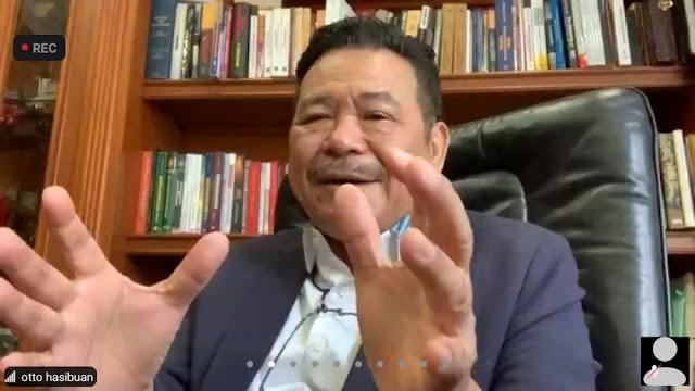 Prof. Dr. Otto Hasibuan Hadir Dalam Kuliah Umum Fakultas Hukum Unilak