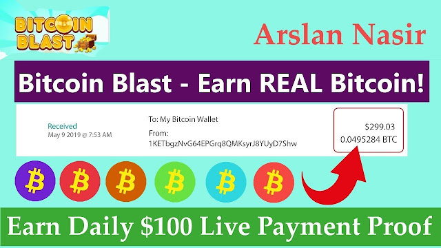 15$ Bitcoin Earn Daily Best Bitcoin Earning Site 2020 With Proof