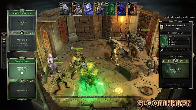 Gloomhaven RPG tactical