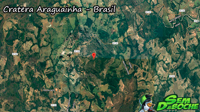 Cratera Araguainha - Brasil