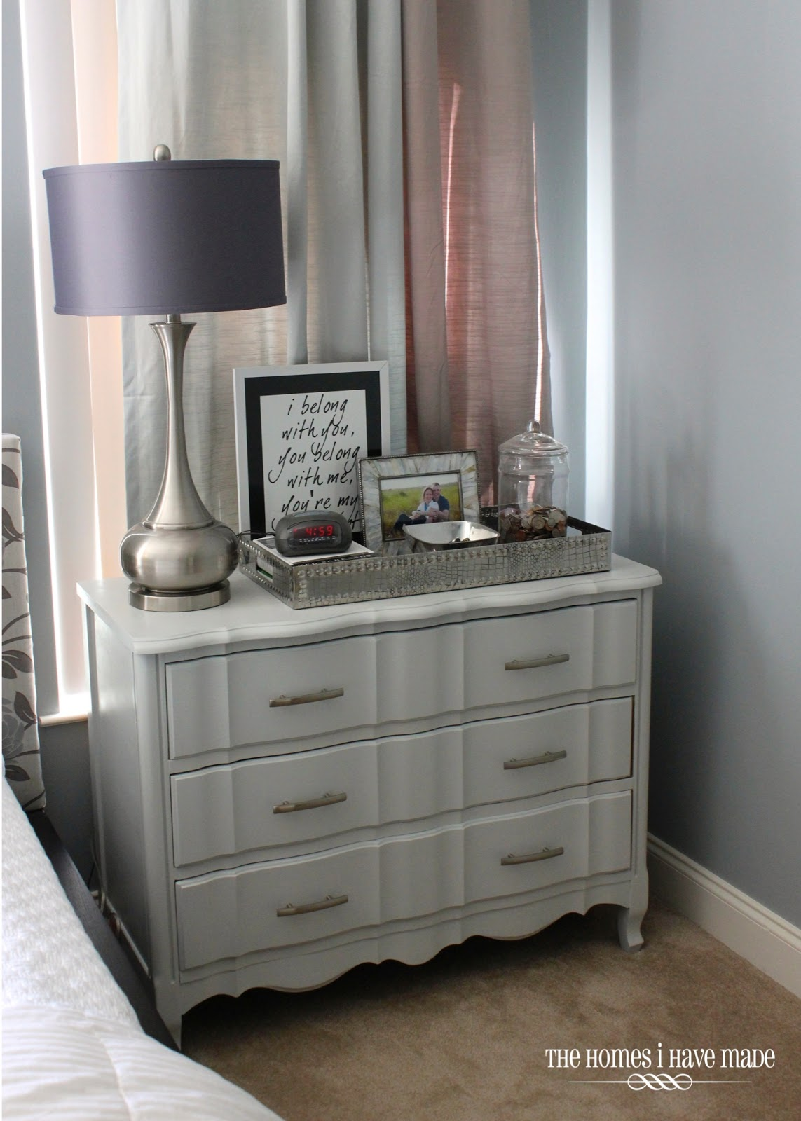 Grey And Yellow Curtains For Living Room Carpet Placement A Modern Makeover Classic Piece - Little ...