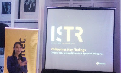 Symantec Philippines Technical Consultant Ms. Christina Tee