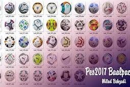 NEW Ballpack 2020-2021 V5 (50 Balls) - PES 2017