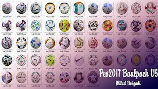 NEW Ballpack 2020-2021 V5 PES 2017