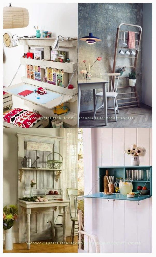 El jardin de los sue os muebles con objetos reciclados for Muebles con objetos reciclados