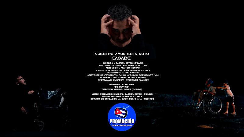 amor está roto¨ - Videoclip - Director: Gabriel Reyes. Portal Del Vídeo Clip Cubano. Música cubana. Canción. Cuba.