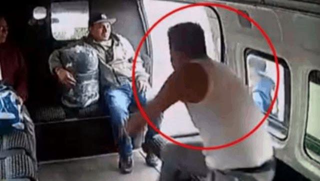 Ahora CNDH se pone del lado de asaltante de Combi circula en redes sociales mensaje para localizar a pasajeros que lo golpearon, la CDN lanza comunicado