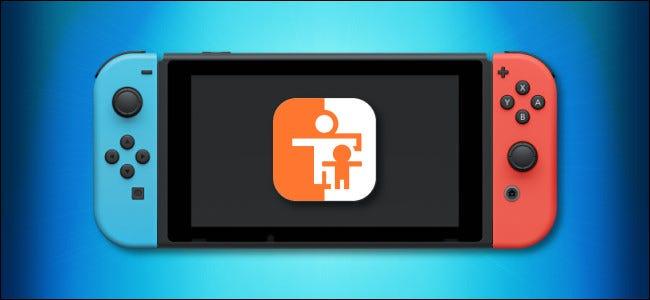 وحدة تحكم وأيقونة تحكم الوالدين في Nintendo Switch