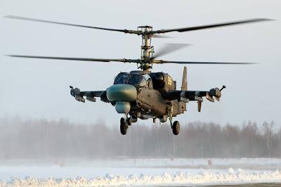 Helikopter Kamov Ka-52K