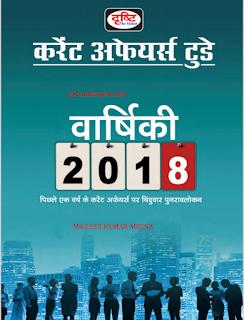 Drishti Current Affairs Today 2018 Yearly (वार्षिकी) Magazine in Hindi PDF Download