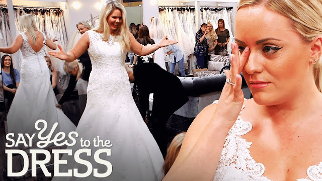 whitney and megan, two brides, say yes to the dress