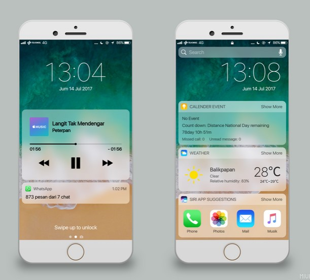 Tema Xiaomi MIUI 8 / MIUI 9 Terbaik dan Populer - alakadarnya