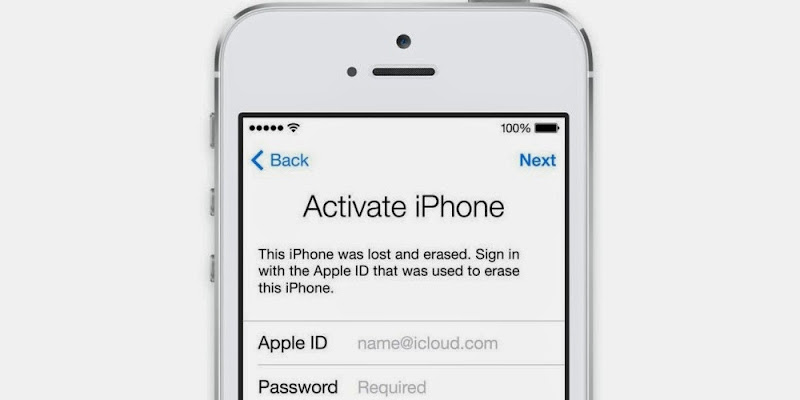 activate icloud locked iphone 5