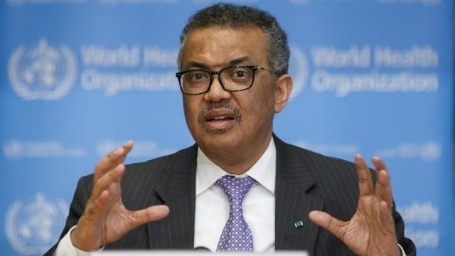 Ο Γενικός Διευθυντής του Παγκόσμιου Οργανισμού Υγείας τέθηκε σε αυτοαπομόνωση