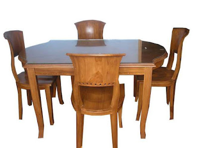 meja makan salina blok