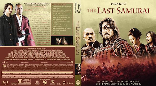 The Last Samurai Bluray Cover