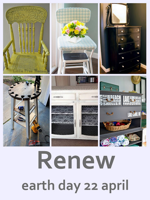 Renew those old items and give them more years of usefulness this Earth Day