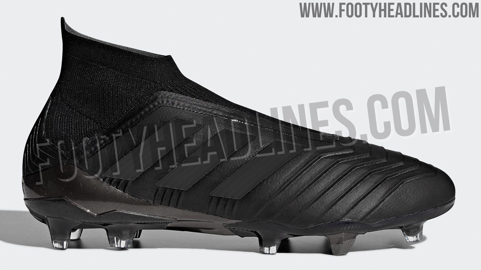 088ae7116 This image shows the Adidas Predator Nitecrawler 2018 soccer boot.