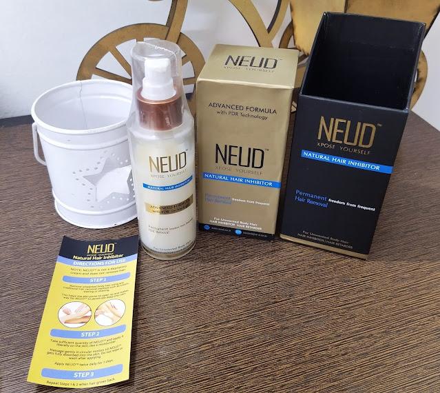 Neud hair inhibitor