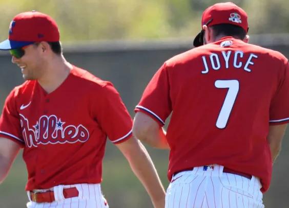 Matt Joyce and the Phillies