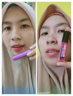 Hasil Aplikasi Lipstik