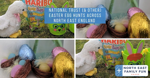 National Trust (& other) Easter Egg Hunts in North East England