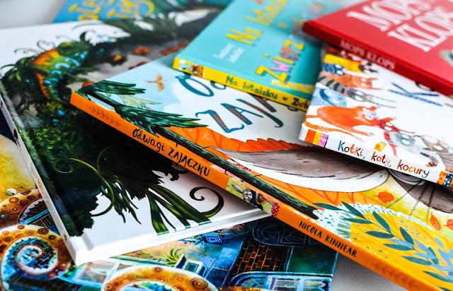 Wakacyjne książki dla przedszkolaka - światowe bestsellery z Amberka