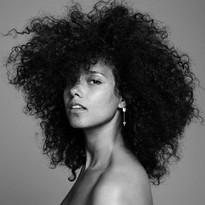 HERE by Alicia Keys, one step away from having finished