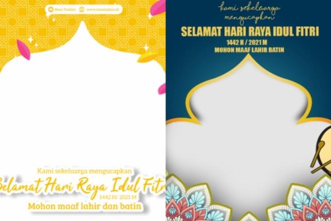 Download Twibbon Bingkai Foto Hari Raya Idul Fitri 1442 H Di Sini