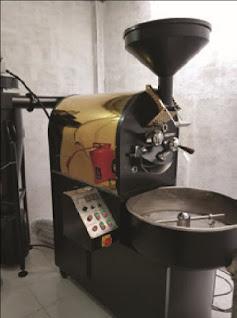 Máy rang cà phê Brotek 10kg