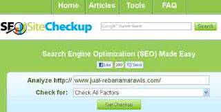 Tips Menganalisa Halaman Blog dengan SEO Tools