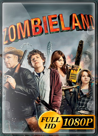 Zombieland: Tierra de zombies (2009) FULL HD 1080P LATINO/INGLES