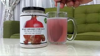 Viscera Arabic Gum Fruits Flavours