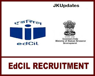 Tags :- EdCIL (India) Ltd Jobs Recruitment 2020, edcil vacancy 2020, edcil recruitment data entry operator,edcil recruitment 2020